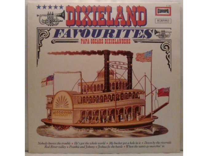 LP Papa Oscars Dixielanders – Dixieland Favourites, 1971
