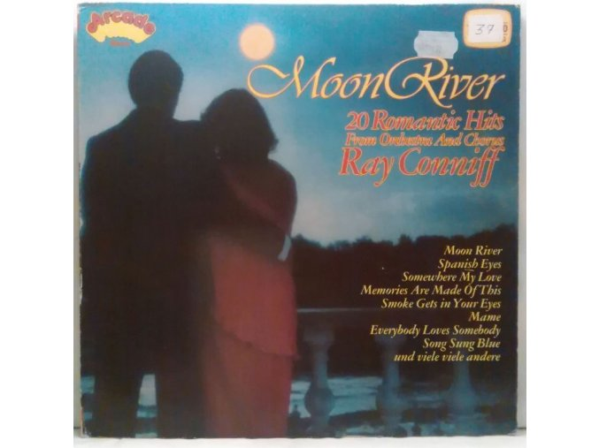 LP Orchestra And Chorus Ray Conniff* – Moon River (20 Romantic Hits)