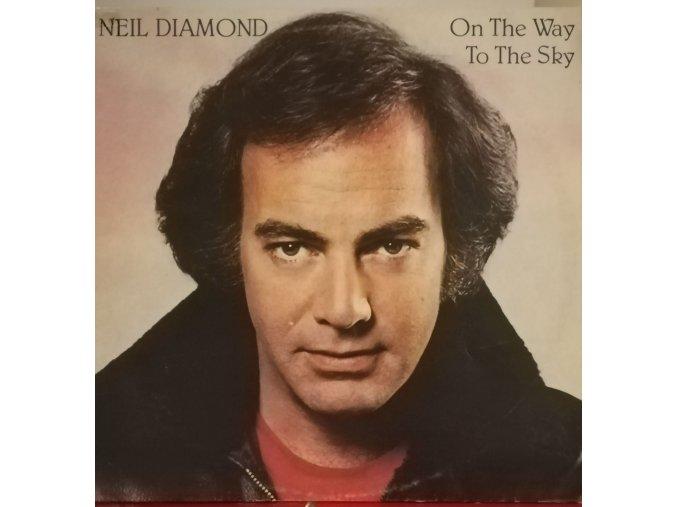 LP Neil Diamond - On The Way To The Sky, 1981