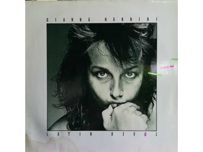 LP Gianna Nannini - Latin Lover, 1982