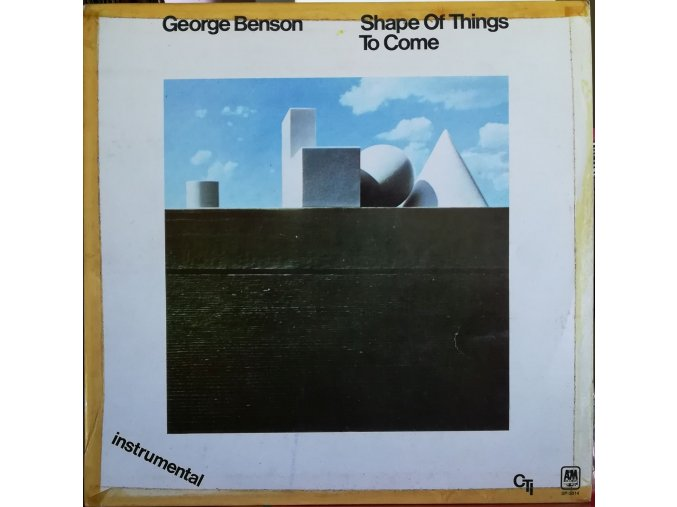 LP George Benson ‎– Shape Of Things To Come, 1980