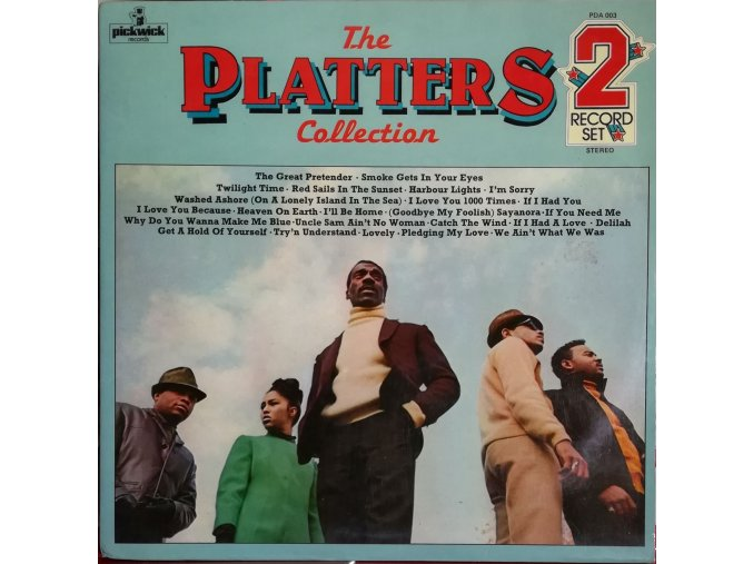 2LP The Platters - The Platters Collection
