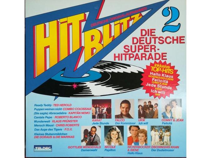 LP Various - Hit Blitz 2, 1982