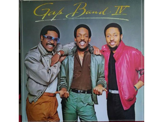LP The Gap Band - Gap Band IV, 1982