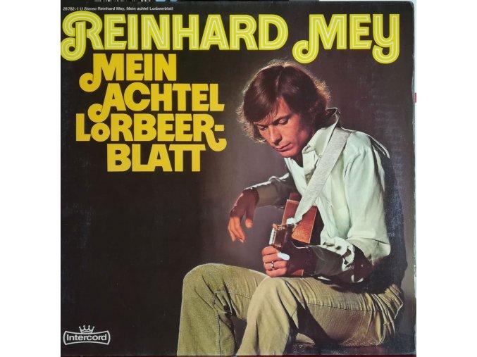 LP Reinhard Mey - Mein Achtel Lorbeerblatt, 1972