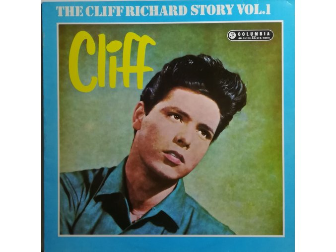LP Cliff Richard – Cliff - The Cliff Richard Story Vol. 1