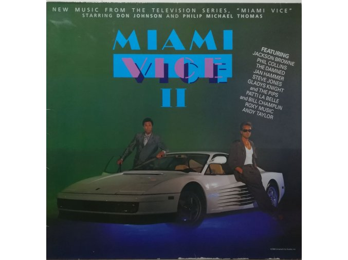Various – Miami Vice II (Music From The Television Series) 1986