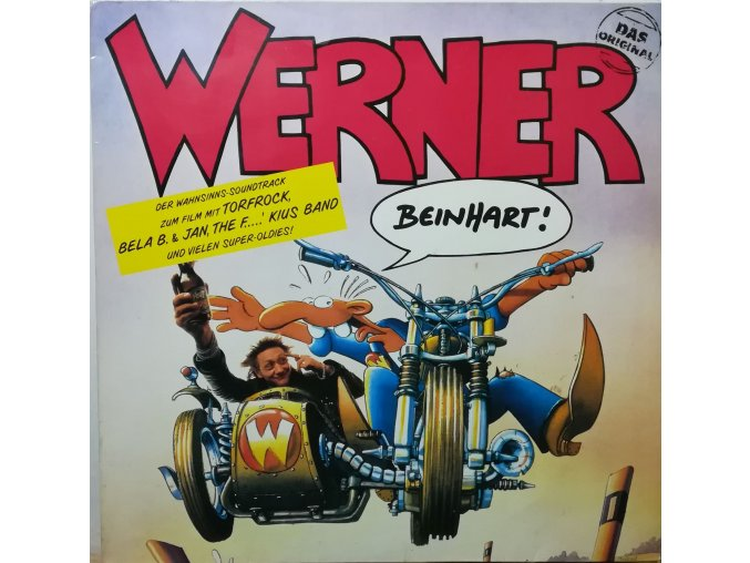 LP Various – Werner - Beinhart! 1990