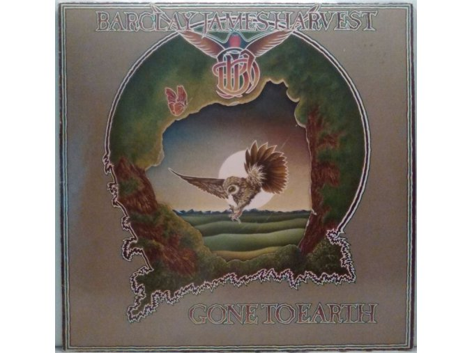 LP  Barclay James Harvest - Gone To Earth, 1977