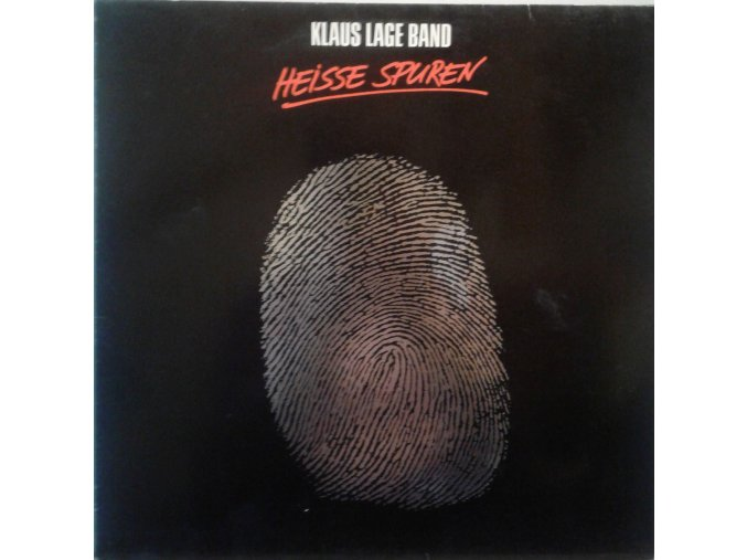 LP Klaus Lage Band - Heisse Spuren, 1985