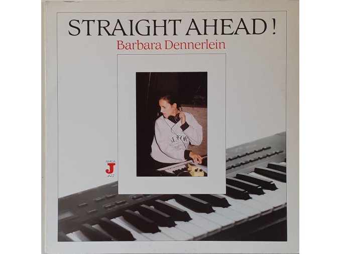 LP Barbara Dennerlein - Straight Ahead! 1989