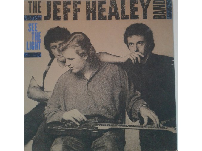LP The Jeff Healey Band - See The Light, 1988