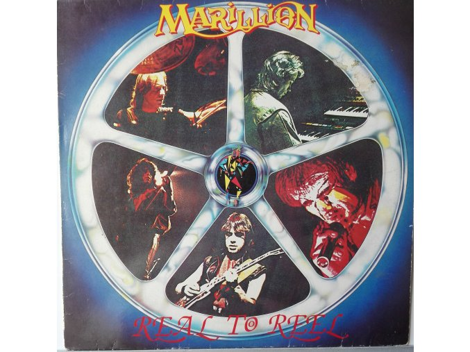 LP Marillion - Real To Reel, 1984
