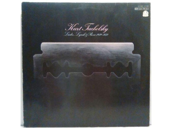 LP Kurt Tucholsky - Lieder, Lyrik und Prosa 1919 - 1932, 1976