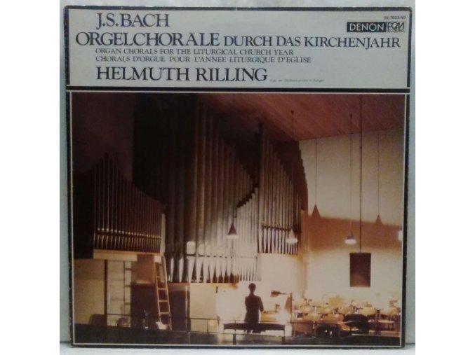 LP Helmuth Rilling, J.S. Bach – Orgelchoräle Durch Das Kirchenjahr