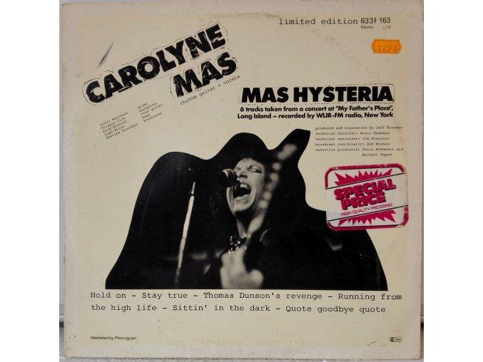 LP Carolyne Mas - Mas Hysteria