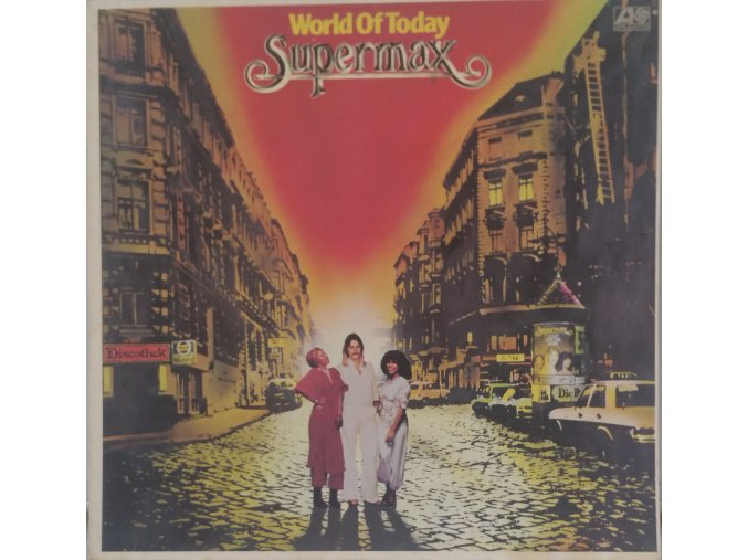 LP Supermax – World Of Today, 1977