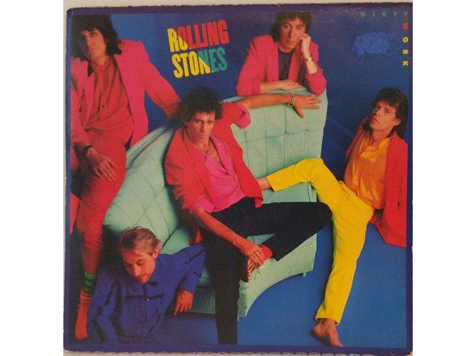 LP Rolling Stones - Dirty Work, 1986