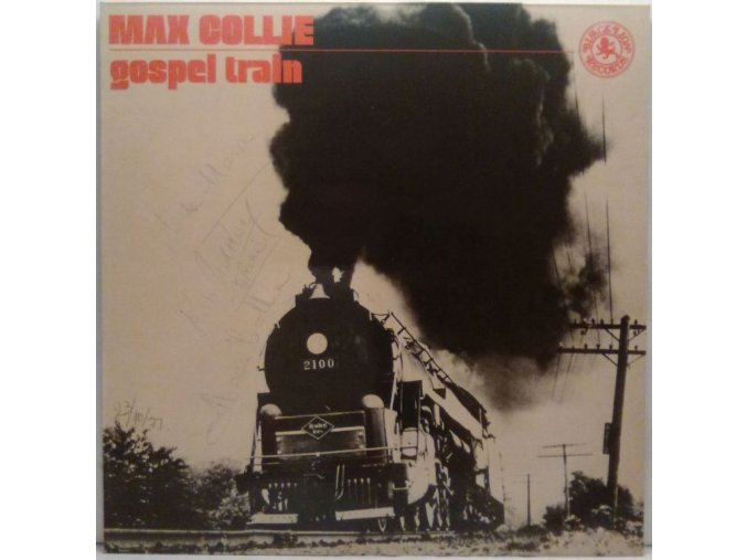 LP Max Collie - Gospel Train, 1977