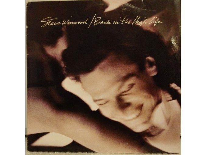 LP Steve Winwood - Back In the High Life, 1986