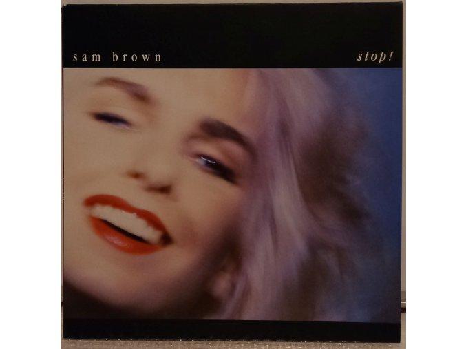 LP Sam Brown - Stop! 1988