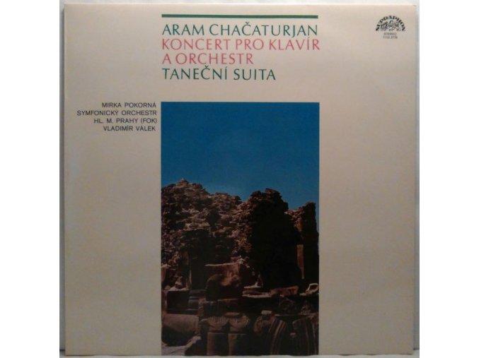 LP Aram Chačaturjan - Koncert Pro Klavír A Orchestr/Taneční Suita, 1981