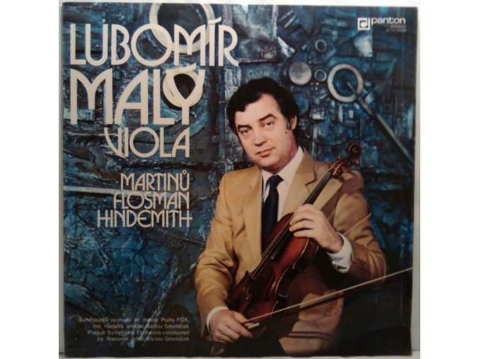 LP Lubomír Malý, Viola - Martinů, Flosman, Hindemith, 1979