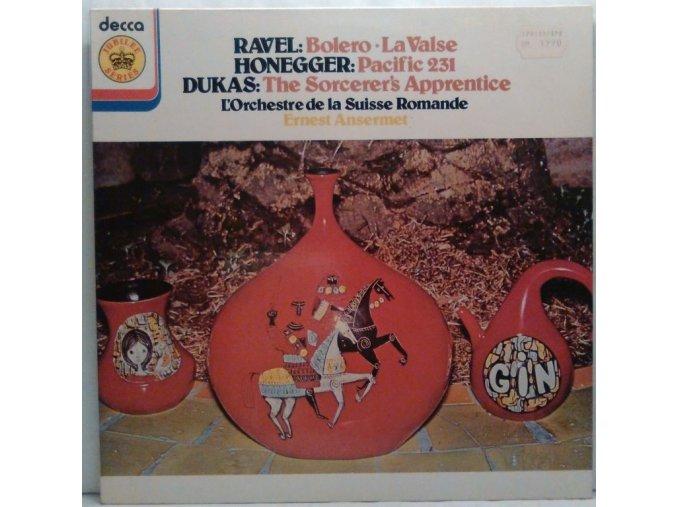 Ravel, Honegger, Dukas, L'Orchestre De La Suisse Romande, Ernest Ansermet - Bolero / La Valse / Pacific 231 / The Sorcerer's Apprentice, 1978