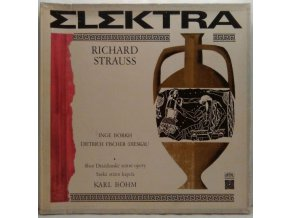 2LP Box Sbor Drážďanské státní opery, Saská státní kapela, Karl Böhm - Richard Strauss - Elektra, 1969