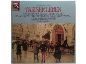 2LP Box Offenbach/Mattes - Pariser Leben, 1983