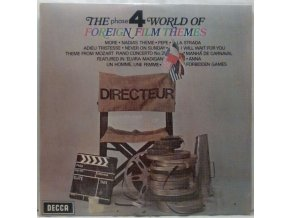 LP Various - The Phase 4 World Of Foreign Film Themes, 1971