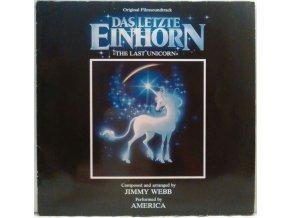 LP America  – The Last Unicorn (Original Soundtrack) 1982