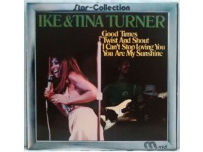 LP Ike & Tina Turner ‎– Star-Collection, 1973
