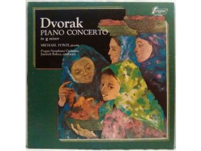 LP Antonín Dvořák, Michael Ponti ‎– Piano Concerto In G Minor, 1974
