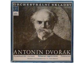 LP Antonín Dvořák - Česká Filharmonie, Václav Neumann – Symfonické Variace / Scherzo Capriccioso / Nokturno, 1969