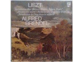 """LP Liszt, Alfred Brendel – Variations On """"Weinen, Klagen, Sorgen, Zagen"""" / """"Pensées Des Morts"""" / Fantasy And Fugue On B-A-C-H / """"Bénédiction De Dieu Dans La Solitude"""" 1977"""