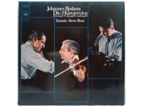 2LP Johannes Brahms - Istomin • Stern • Rose – Die 3 Klaviertrios (H-dur Op.8 / C-dur Op.87 / C-moll Op.101)