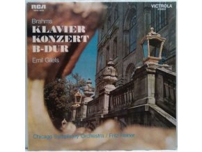 LP Johannes Brahms :  Reiner, Chicago Symphony, Gilels – Brahms Klavier Konzert B-Dur