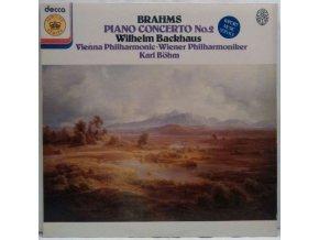 LP Johannes Brahms :  Vienna Philharmonic, Böhm, Backhaus – Piano Concerto No.2, 1967