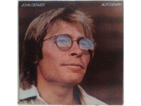 LP John Denver - Autograph, 1980