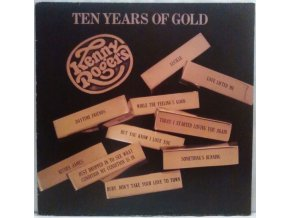 LP Kenny Rogers - Ten Years Of Gold, 1977