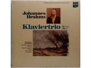 LP Johannes Brahms - Stuttgarter Klaviertrio - Klaviertrio H-Dur Op.8, 1978