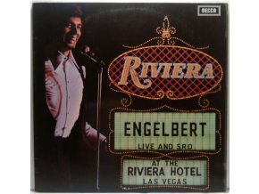 LP Engelbert Humperdinck ‎– Live And S.R.O. At The Riviera Hotel, Las Vegas, 1971