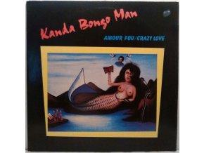 LP Kanda Bongo Man – Amour Fou / Crazy Love, 1987
