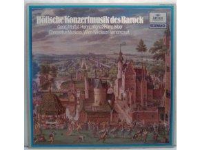 LP Georg Muffat/Heinrich Ignaz Franz Biber/Concentus Musicus Wien/Nikolaus Harnoncourt - Concert Music Of The Baroque Court, 1965