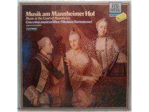 LP Concentus Musicus Wien, Nikolaus Harnoncourt - Musik Am Mannheimer Hof (Music At The Court Of Mannheim), 1963