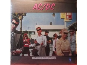 LP AC/DC ‎– Dirty Deeds Done Dirt Cheap, 2009