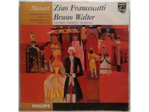 LP Zino Francescatti, Bruno Walter, Columbia Symphony Orchestra - Mozart - Violin Concerto No.3 In G Major K.216 - Violin Concerto No.4 In D Major K.218