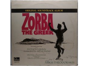 LP Mikis Theodorakis ‎– Zorba The Greek - Original Soundtrack