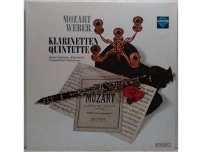LP Wolfgang Amadeus Mozart, Carl Maria von Weber, Dieter Klöcker, Consortium Classicum - Klarinetten Quintette, 1965